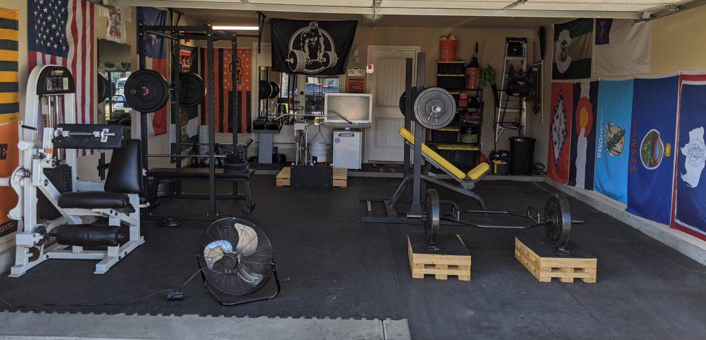 My Garage Gym, Best Space Heater Garage Gym
